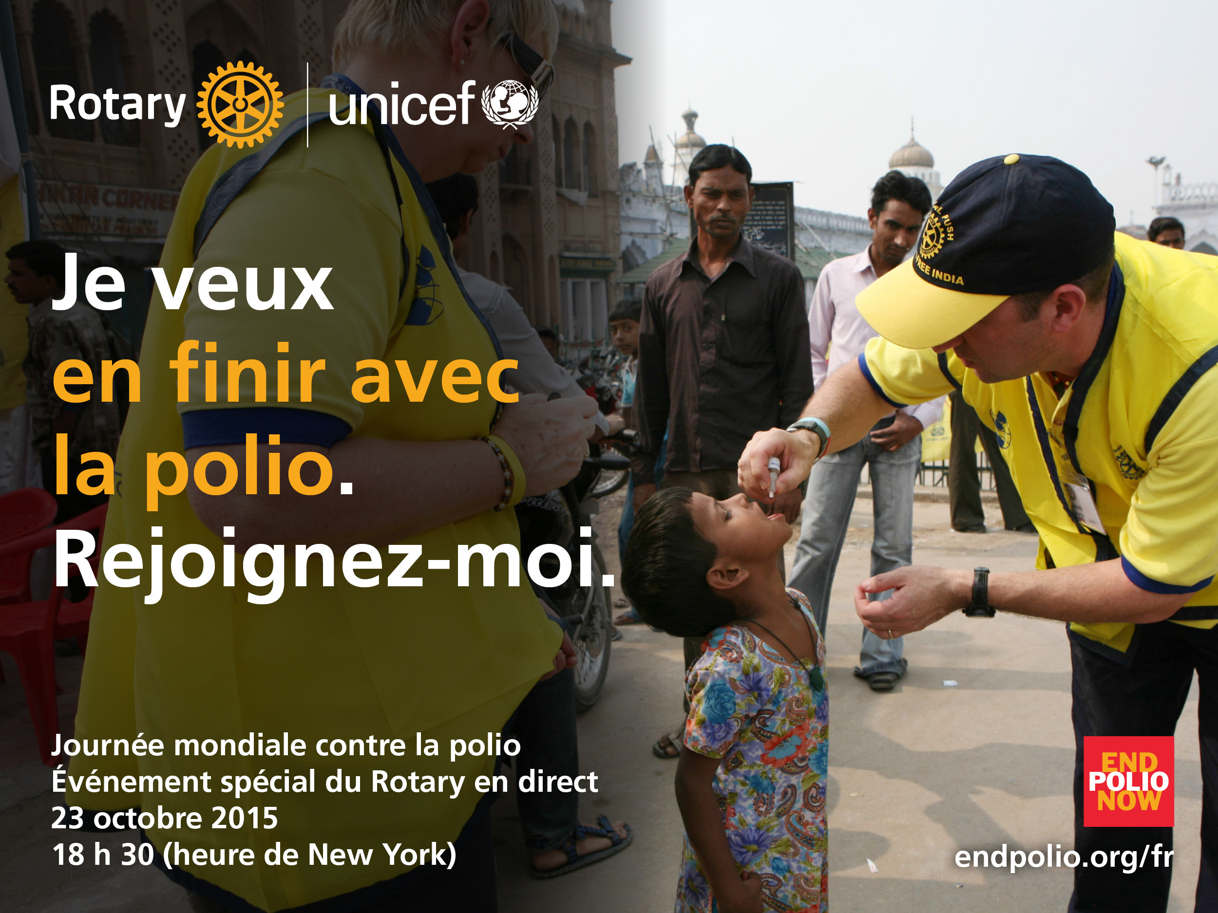 Action Polio Walk à Toulouse le 24 Octobre 2015